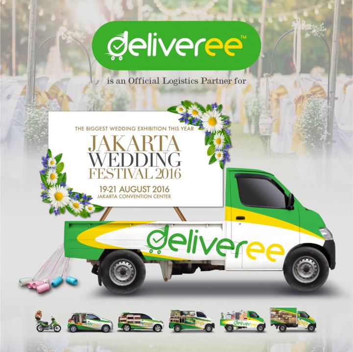 Logistik.Ekspedisi Pengiriman Barang,Sewa Mobil Pick Up,Jakarta Wedding Festival