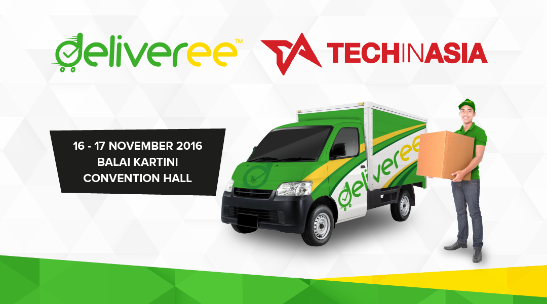 Deliveree,TechInAsia,online delivery,courier service jakarta,jasa pengiriman