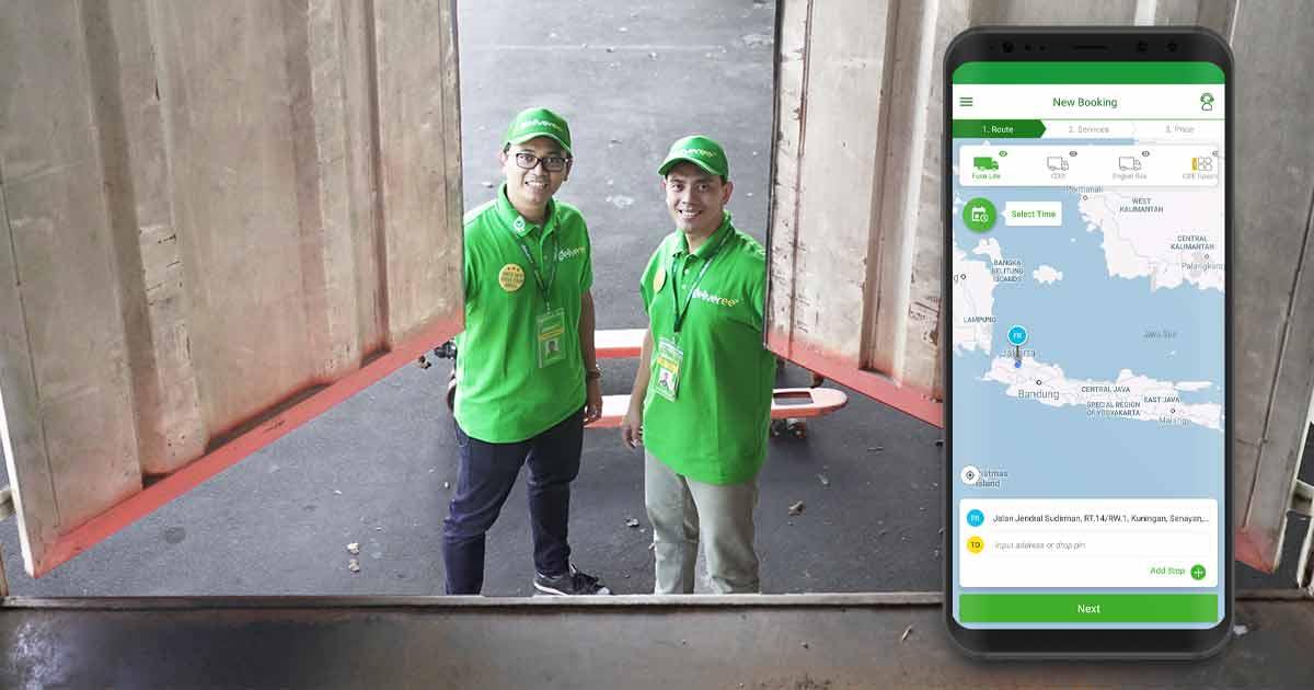 Jasa Aplikasi Delivery Antar Jemput Barang og
