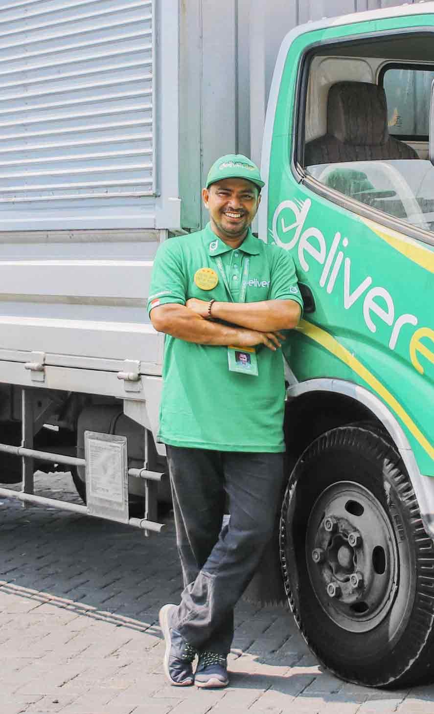 Jadi pengemudi Deliveree! Dapatkan uang tambahan dengan melakukan pengiriman dengan kendaraan Anda sendiri.