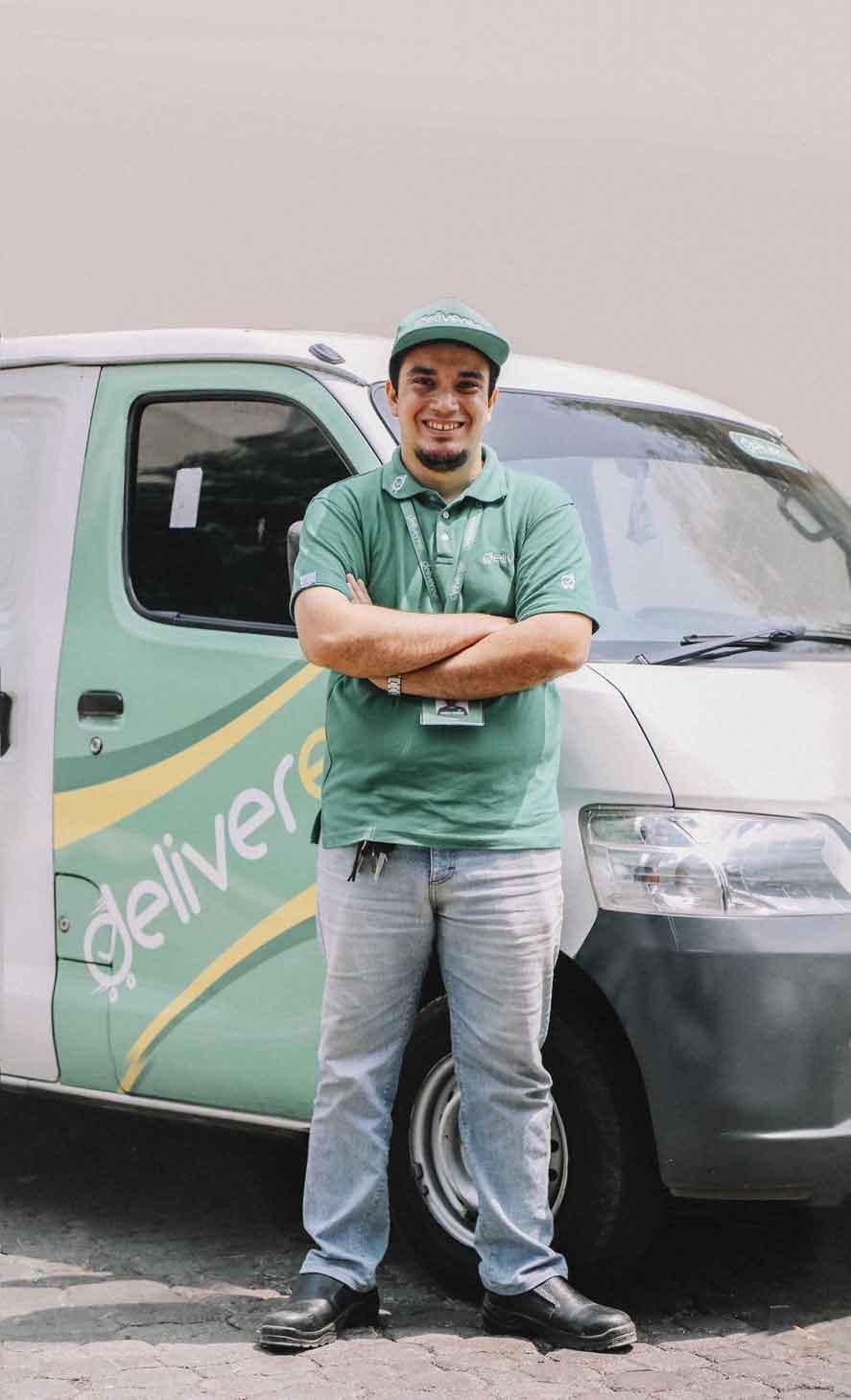 Selamat Datang di Deliveree! Anda yang putuskan kapan dan seberapa sering Anda mengemudi.