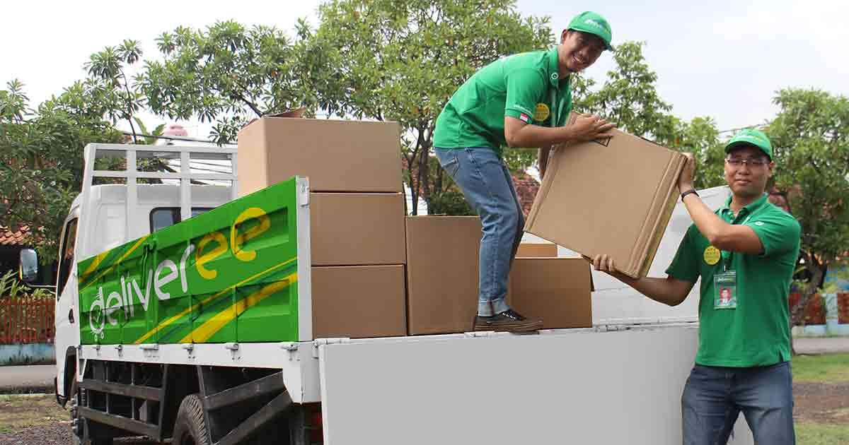 Jasa Ekspedisi Cargo Murah Truk Engkel Bak