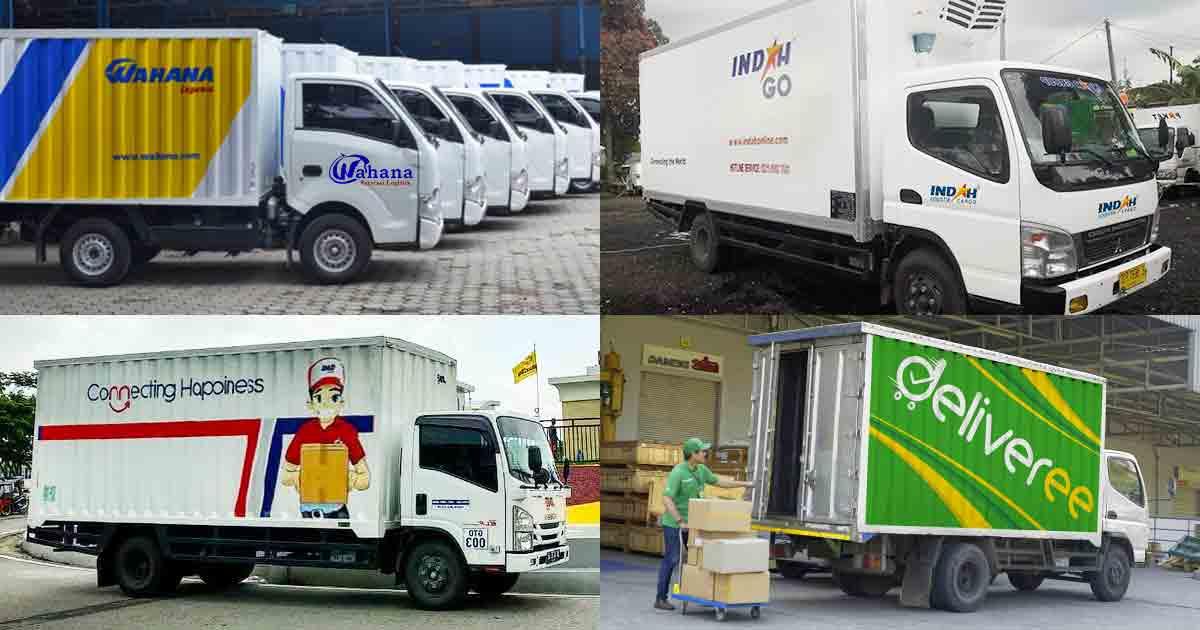 Ekspedisi Indah Cargo, Wahana, J&T, JNE Cilegon og