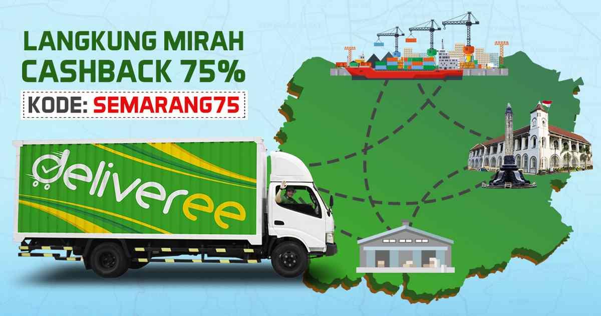 Spesial Cashback 75% Kirim Barang Di Semarang og
