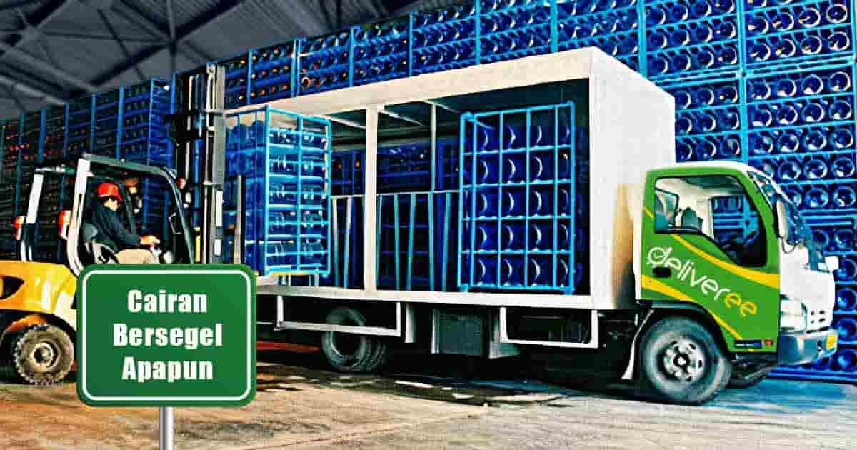 Jasa Pengiriman Paket Cairan | Ekspedisi Kirim (Deliveree)