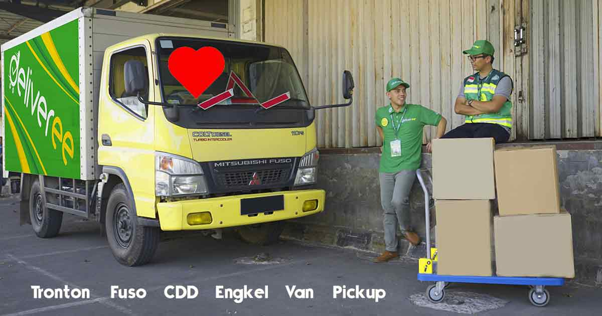 Sewa Truk Engkel Box Mobil Cde Cintai 1jt Klien