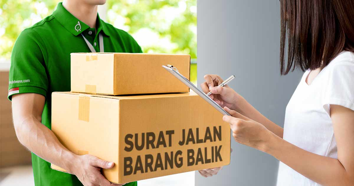 Kirim surat penerimaan barang pesanan