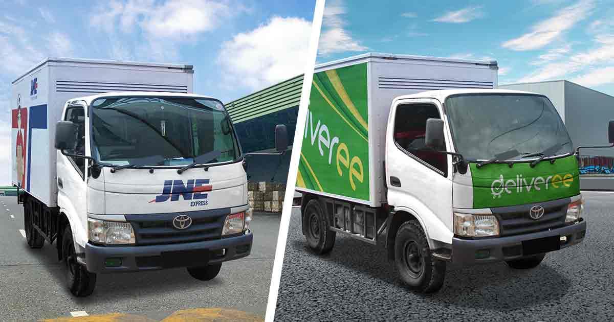 Cek tarif jne trucking harga