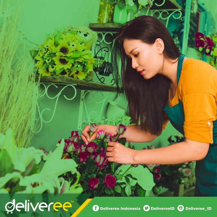 deliveree,toko bunga, jasa pengiriman barang murah,cek tarif,bisnis jasa