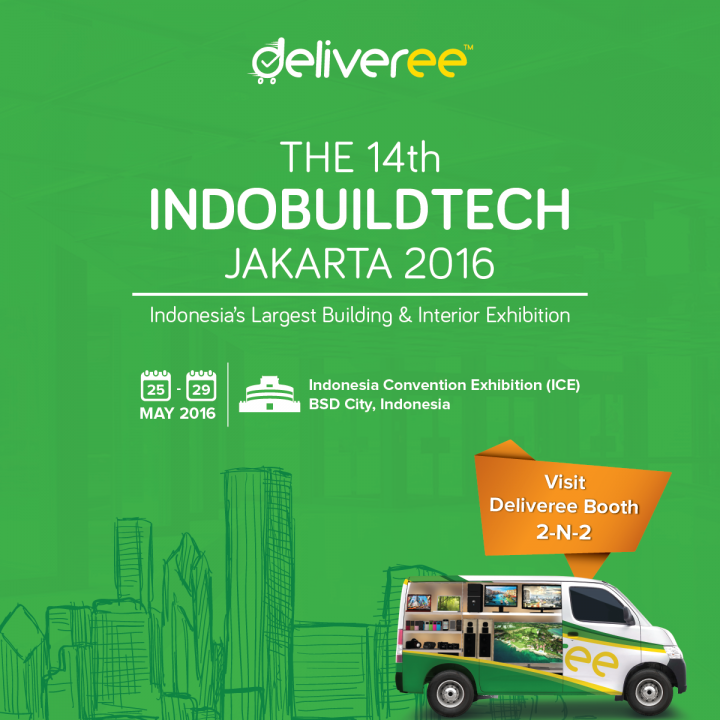 deliveree,kurir jakarta,sewa pick up ,delivery,logistik
