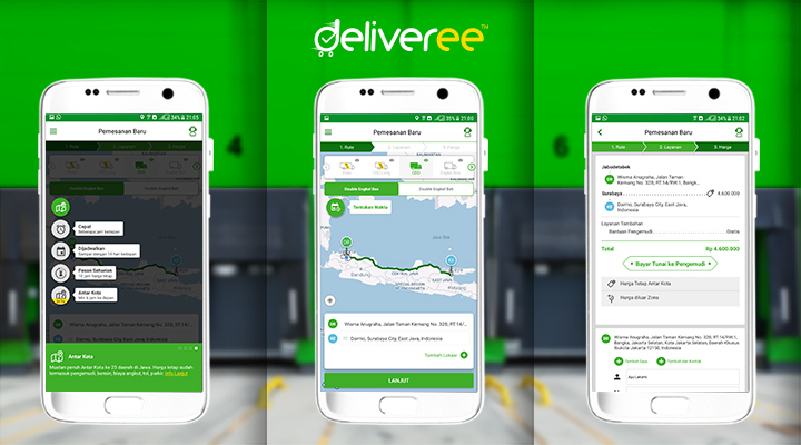 deliveree,jasa pengiriman online,sewa mobil box jakarta,kirim barang ke bandung,logistik