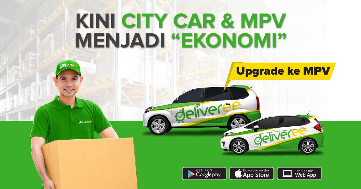 deliveree,sewa mobil di Jakarta,jasa pengiriman barang,kurir jakarta 24 jam,kurir dokumen