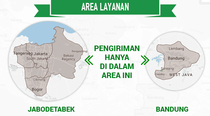 Area layanan Deliveree