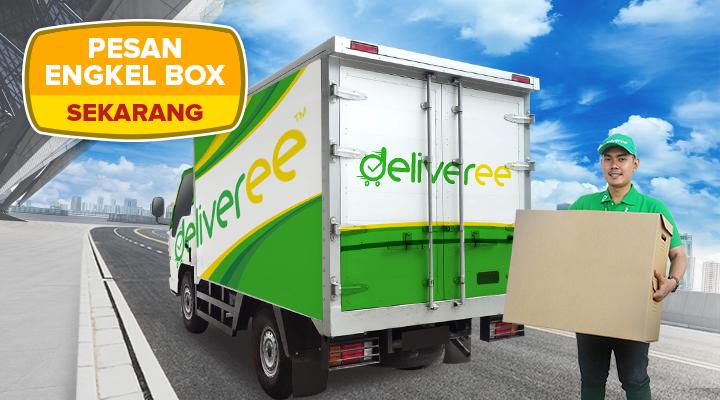 Deliveree,CDE,sewa Engkel Box,logistik,Engkel Box