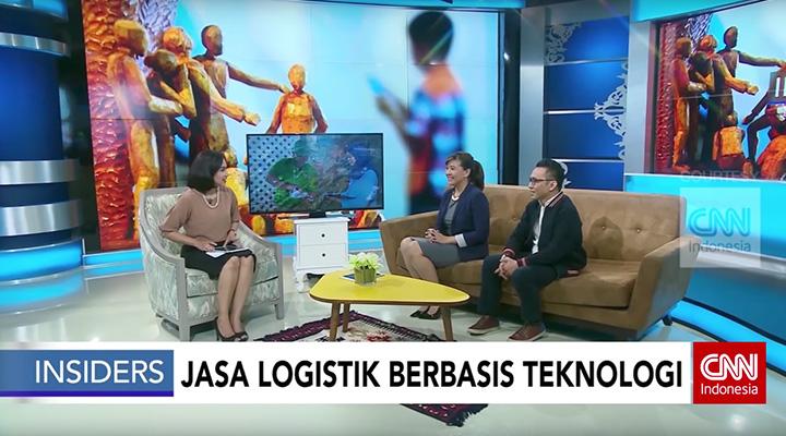 Deliveree di CNN Indonesia, deliveree cnn, cnn indonesia