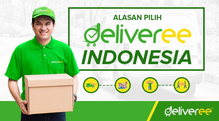 deliveree,deliveree Indonesia,kirim barang,kirim barang hari sama