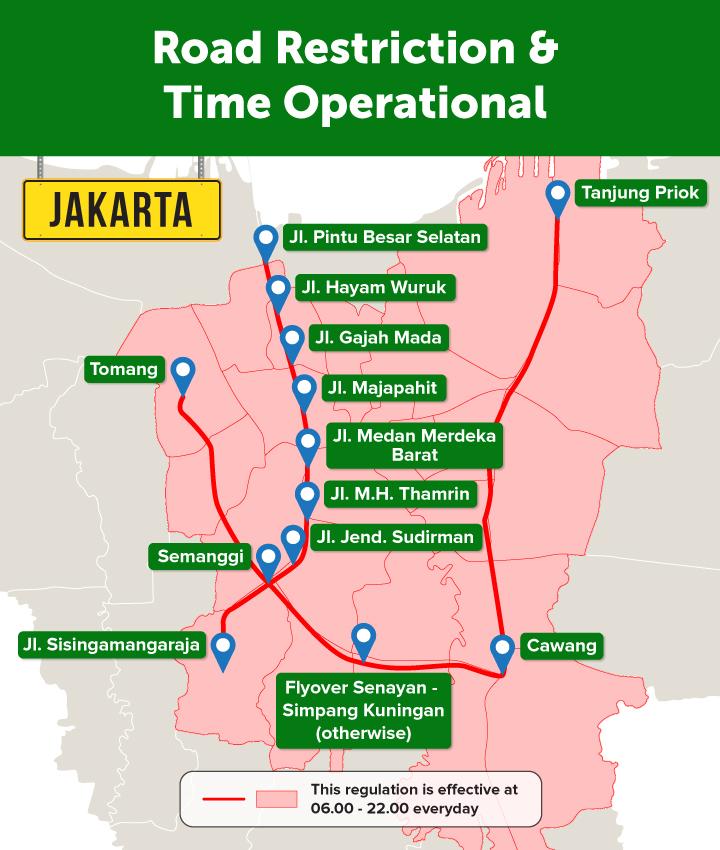 double engkel,deliveree,jakarta,restriction area,cdd