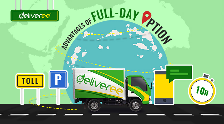 Deliveree,logistics partner,axle truck for rent,our location