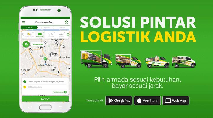 deliveree,jasa pengiriman barang,bisnis logistik,aplikasi transportasi kargo,biaya kirim barang