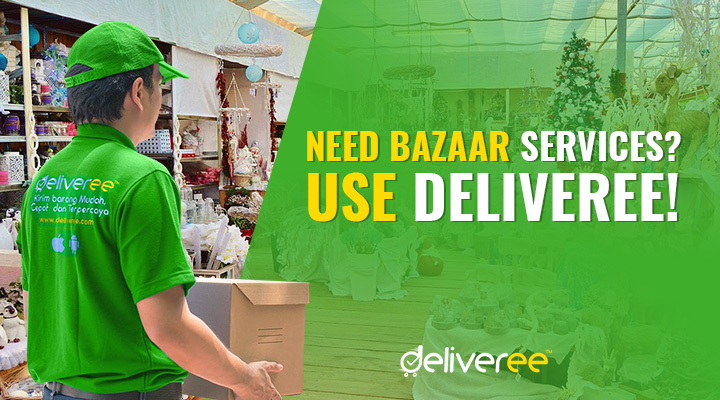 Going to showcase your goods and products in a bazaar? Try the Deliveree app! We can serve at different kinds of bazaar events and merchandise!