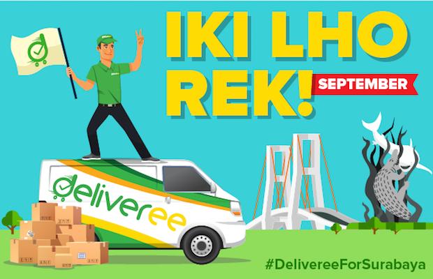 deliveree,deliveree surabaya,jasa pengiriman surabaya,aplikasi pengiriman surabaya