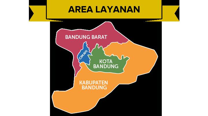Area Layanan BDG