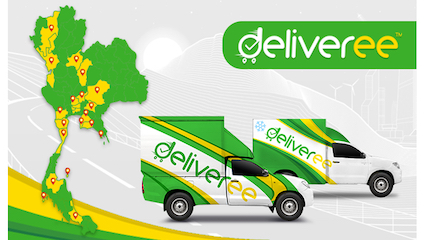Deliveree Expands Long Haul Service with All-In Fixed Prices to 19 Cities in Thailand