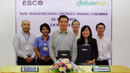 Deliveree and ESCO Tie Up For Warehouse to Warehouse Cargo Delivery