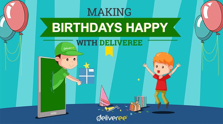 จัดงานวันเกิดกับ Deliveree