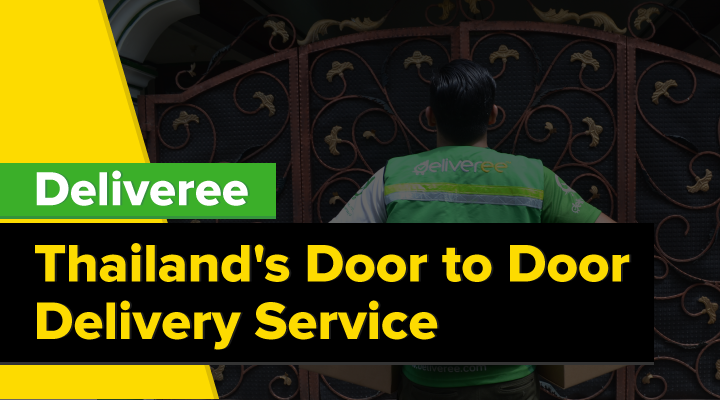Door to Door Delivery Thailand – There is an App for That