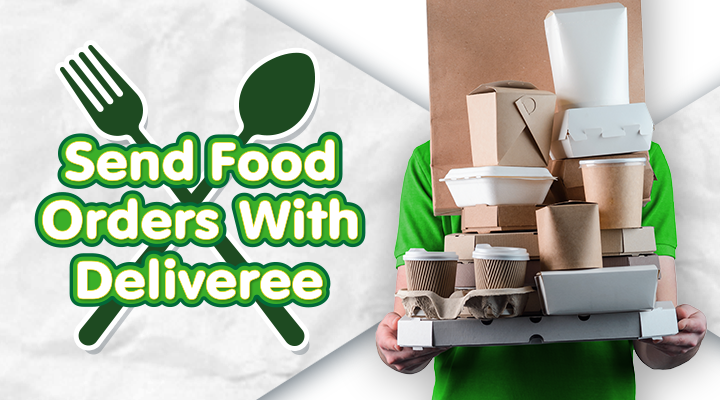 Send Food Orders with Deliveree!