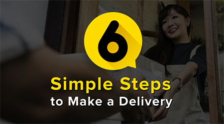 Simple Steps to Make a Delivery