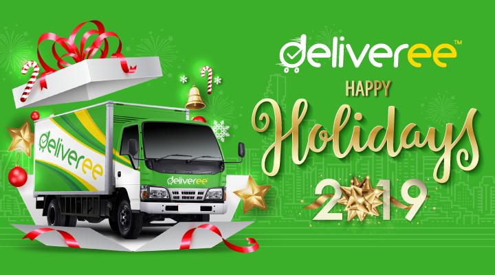 ส่งของกับ Deliveree ได้ตลอดช่วงเทศกาล
