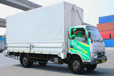 6-Wheel Truck with Driver