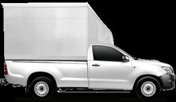ส่งของต่างจังหวัดด้วยรถกระบะมีตู้