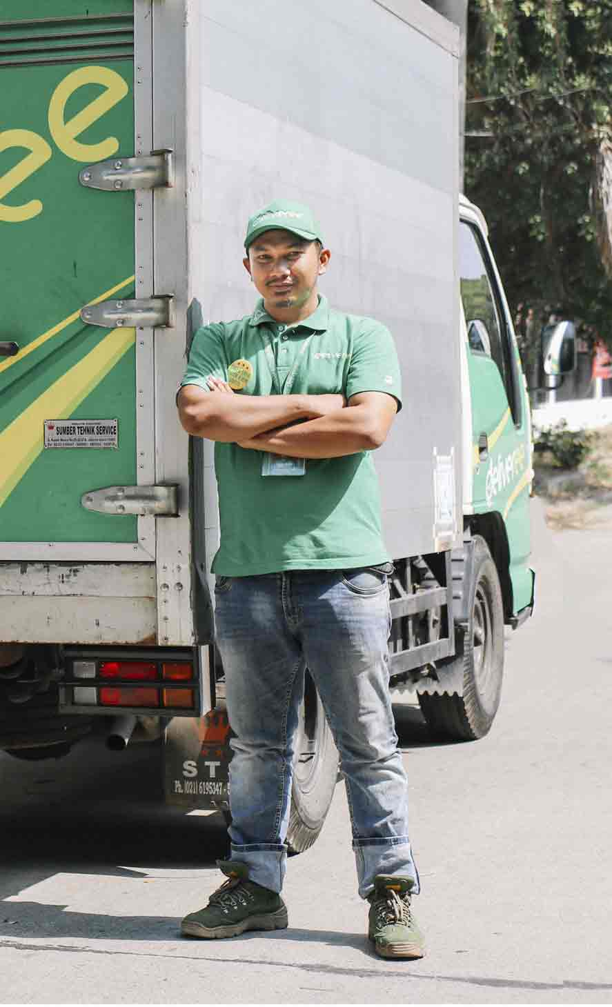 Deliveree Truck Driver Image