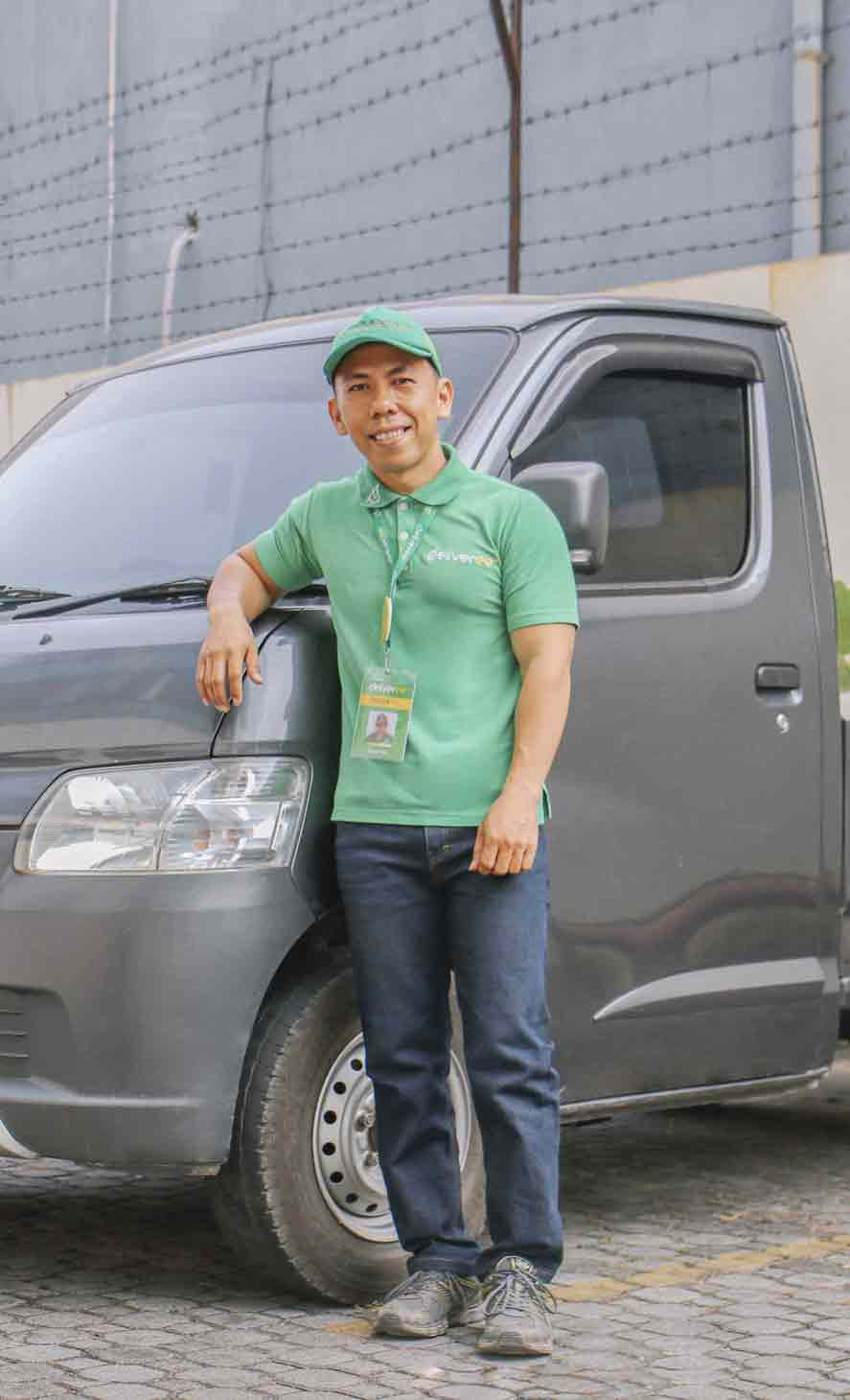 Deliveree Pickup Truck Driver Image