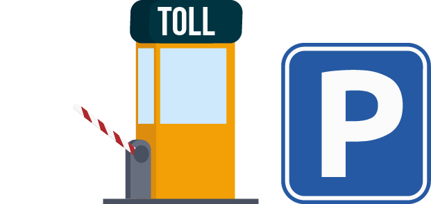 Toll and Parking Icon
