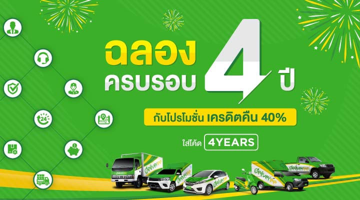 4 Year anniversary promotion