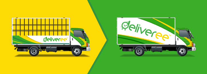6 Wheel Truck Cargo-Box