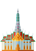 Bangkok Landmark Icon