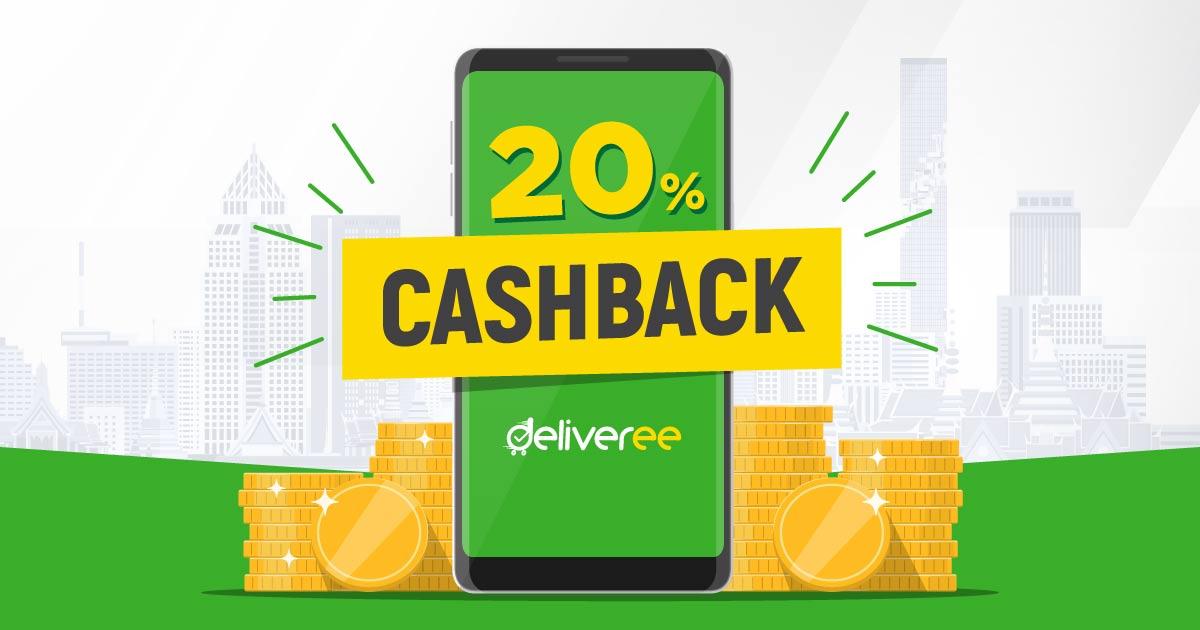 20% Cashback Promotion